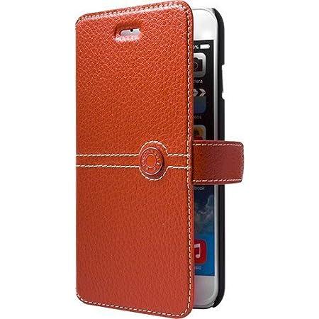 Façonnable FACOBKBELIP7O Etui folio pour iPhone 6/6S/7/8 , Orange