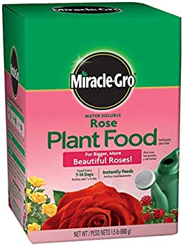 Miracle Gro Water Soluble Rose Plant Food, 1.5 Lb