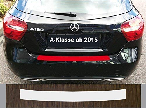 is-tuning Passgenau für Mercedes A-Klasse W176, 2015-2018 Lackschutzfolie Ladekantenschutz Transparent