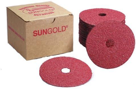 Sungold Abrasives 17309 Center Hole Max 57% OFF Oxide Grit Aluminum Fibe 150 Charlotte Mall