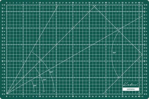 Bases de corte 45x30cm de 3mm grosor de Kadusi
