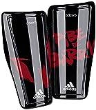 adidas Messi 10 Shin Guard, Black/Power Red/White, X-Large