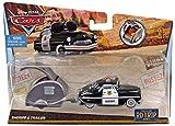 Mattel Disney Pixar Cars - Road Trip Series - Sheriff & Trailer