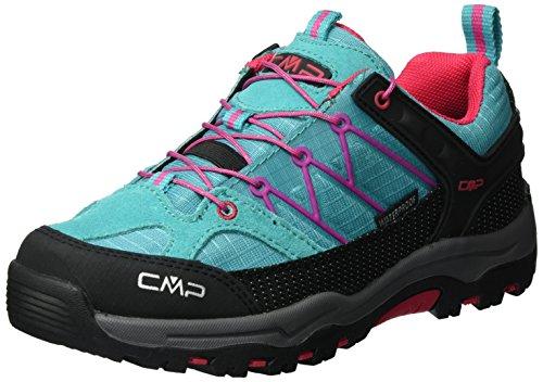 CMP Unisex-Erwachsene Rigel Low Trekking- & Wanderhalbschuhe, Türkis (Curacao L609), 34 EU