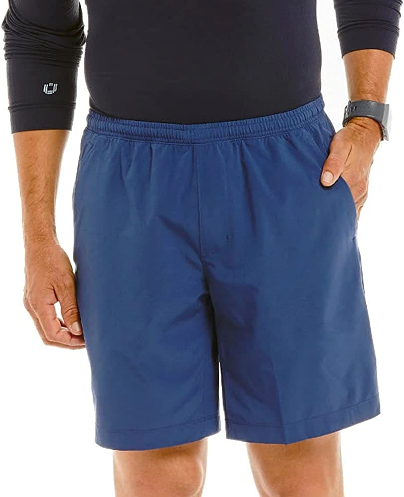 IBKUL Men's Quick Super sale period limited Virginia Beach Mall Dry Moisture Wicking Shorts On - 98000 Pull