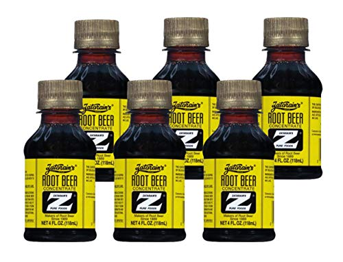 Zatarain's Root Beer concentrate 4 Fl Oz (Pack of 6)