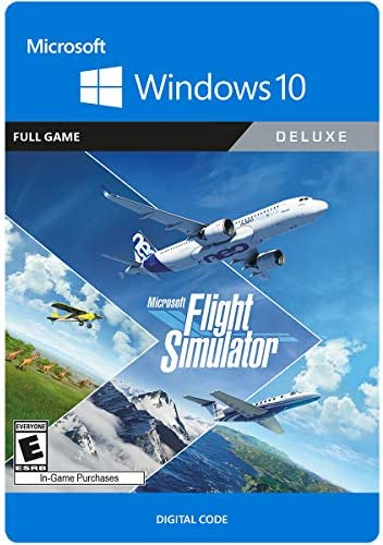 Microsoft Flight Simulator Deluxe Edition PC Online Game Code product image