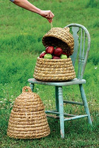 Garden BEE Skep Basket with Open Top