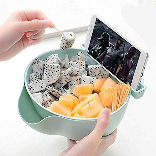(40% OFF Coupon) Double Layer Snack Bowl $5.39