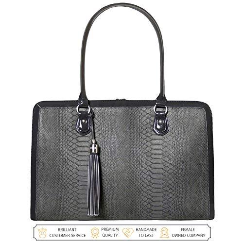 Laptop Bag for Women 17 inch Luxury Handmade Computer...