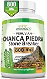 Chanca Piedra has been used by the indigenous peoples of the Amazon for treatment and removal of kidney stones and gallstones. Our Chanca Piedra contains 120 tablets serving 800 MG per easy to swallow tablets which is the highest in the market Millio...