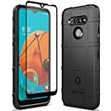 Sucnakp LG K51 Case LG Q51 Case with Screen Protector Heavy