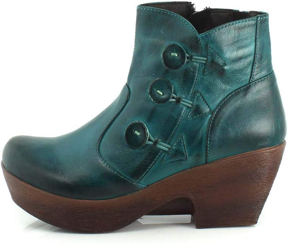 Amazon.com | Jafa Womens 615 Teal Boot