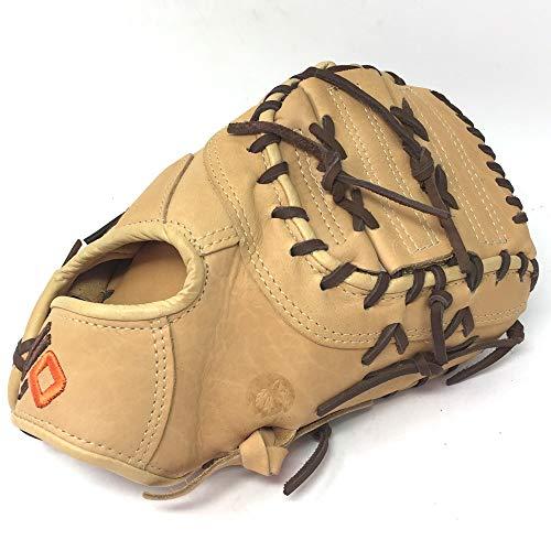 NOKONA Alpha Baseball First Base Mitt Youth Tan 10.5 Right Hand Throw
