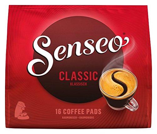 Senseo Pads Classic, 16 Kaffeepads für 16 Getränke