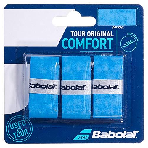 Babolat Tour Original X3 Overgrip, Adultos Unisex, Bleu (Azul), Talla Única