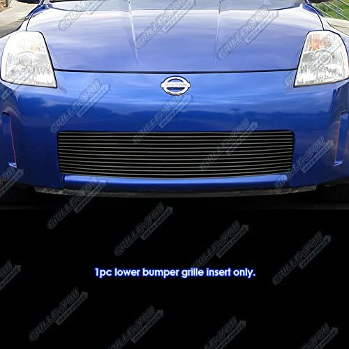 APS Compatible with 2006-2007 350Z Gri Billet Lower Black Luxury Bombing free shipping Bumper