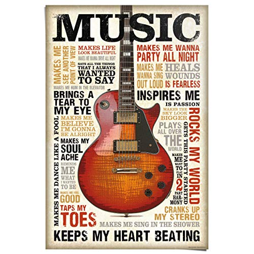 REINDERS Music is Passion - Poster 61 x 91,5 cm