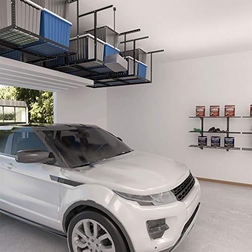 "Fleximounts 3x6 Overhead Garage Storage Adjustable Ceiling Storage Rack, 72"" Length x 36"