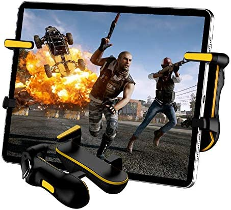 PUBG Mobile Trigger, PB906 Rapid-Fire Mode Mobile Game Controllers for PUBG/COD Mobile/Fortnite/Rules of Survival Gaming Grip and Gaming Joysticks for iPhone Android Phones