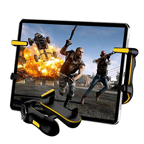 PUBG Mobile Controller for Tablet Auto High Frequency Tap, Mobile Game Controllers Designed for Shooting Games Cod Mobile/PUBG/Fortnite Gaming Grip and Gaming Joysticks for iPad/Android Tablet