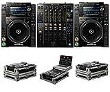 cdj 2000 djm 2000 - Pioneer DJ CDJ-2000 NXS2 + DJM-900 NXS2 + FZCDJ & FZGS12MX1 Cases Bundle Deal