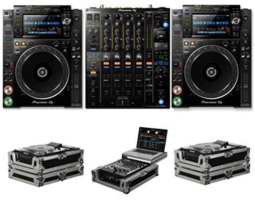 Find Bargain Pioneer DJ CDJ-2000 NXS2 + DJM-900 NXS2 + FZCDJ & FZGS12MX1 Cases Bundle Deal