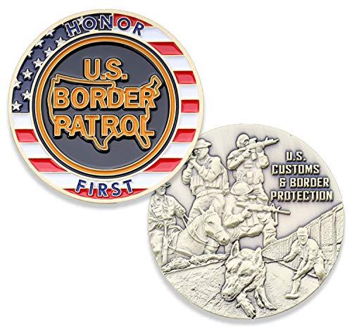 US Border Patrol Challenge Coin - U.S. Customs & Border Protection Challenge Coin - Military Coins USBP - Designed by Military Veterans