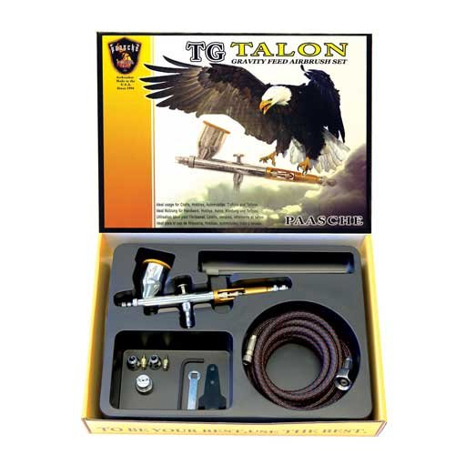Paasche Airbrush TG-3F Double Action Gravity Feed Airbrush