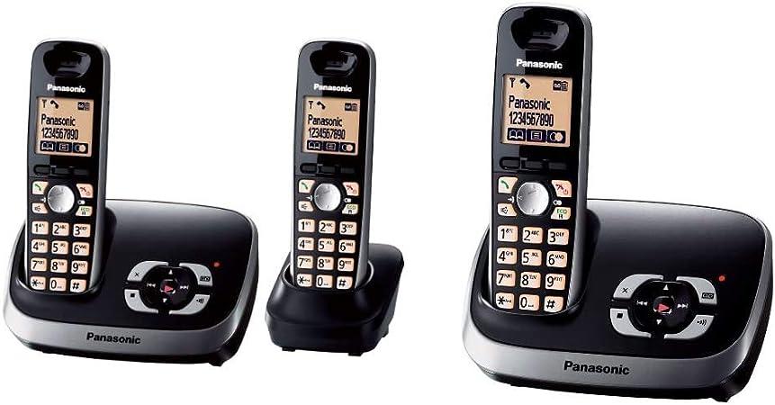 Panasonic Kx Tg6522gb Duo Schnurlostelefon Mit Elektronik