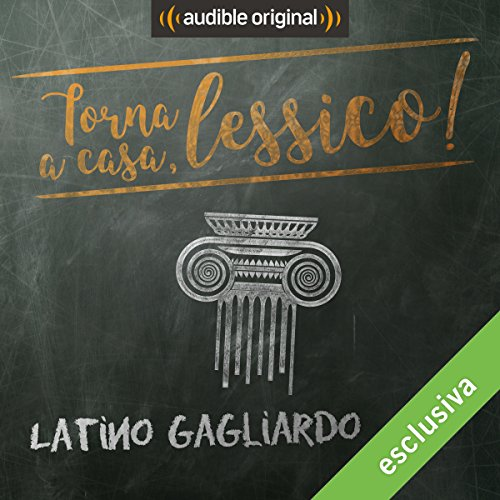 Latino gagliardo audiobook cover art