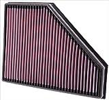 K&N 33-2942 Voiture Filtre à Air de Remplacement, Lavable et Réutilisable