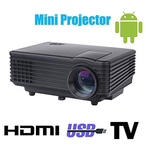 Wifi 3d led mini proiettore accessori completo hd tv home theatre projetor video lcd proyector portatile pico mircro beamer