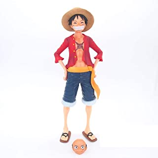 One Piece 27cm Laughing Luffy Model GiftAnime Realistic Statue Resin Anime Collectible Souvenirs