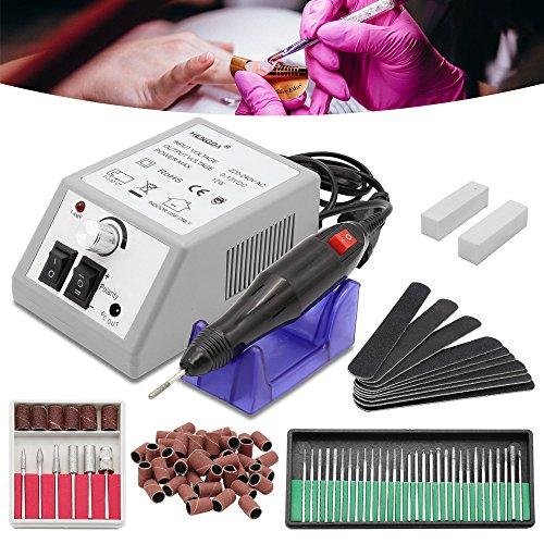 HG® Máquina limadora de uñas para manicura y pedicura - Pulidora profesional...