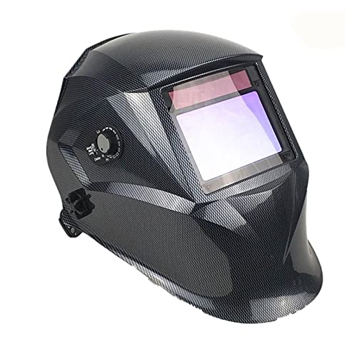 Accesorios de soldadura Máscara de soldadura 100 * 65mm 1111 4 Sensores de pulido DIN 3/4-13 MMA MIG TIG EN 379 UL CSA COMO Casco solar de soldadura de oscurecimiento automático Kit de soldador