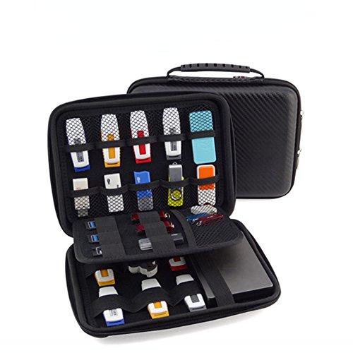 GuanHe funyoung USB de memoria stick Organizador Bolsa Case Organizador para memorias USB SD Tarjeta de memoria móvil Accesorios Colección