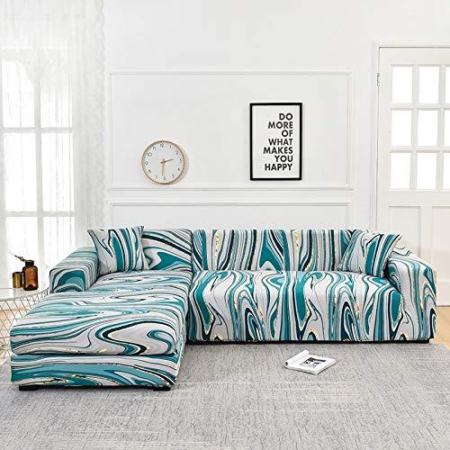 Funda de sofá con Estampado Floral Toalla de sofá Fundas de sofá para Sala de Estar Funda de sofá Funda de sofá Proteger Muebles A16 3 plazas