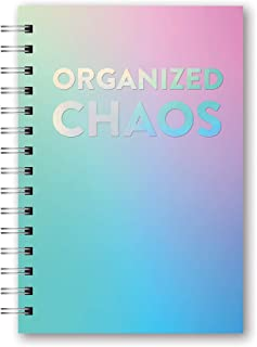 Orange Circle Studio 2020 Medium Spiral Planner, Organized Chaos