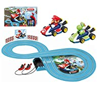 2 x vehicles included in the set: Nintendo Mario Kart - Mario, Nintendo Mario Kart - Yoshi Ergonomic hand control, specially designed for children's hands Battery operated Recommended for children over 3 years Exciting licensed themes Vehicles in chi...
