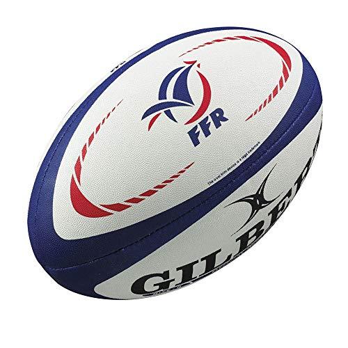 GILBERT Mini Ballon de Rugby Replica FFR