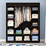 AOOU Portable Closet Organizer Storage, Wardrobe...