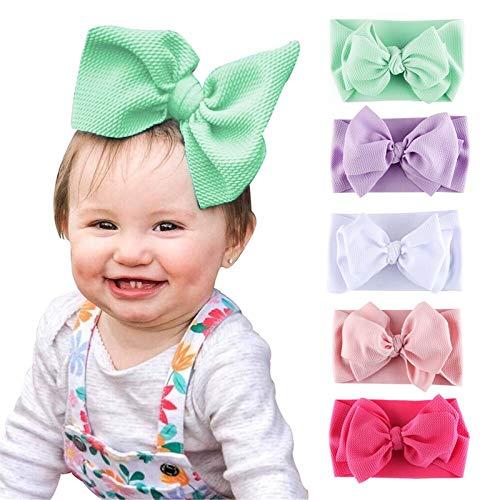 Byinns Baby Girls Headbands Bow Headwrap Hair bands for Toddler Children Infant