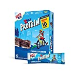 CLIF KID ZBAR - Protein Granola Bars - Cookies and Creme Flavor - Non-GMO - Organic -Lunch Box Snacks (1.27 Ounce Energy Bars, 10 Count)