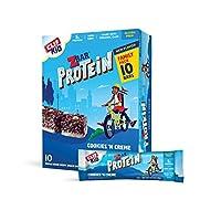 CLIF KID ZBAR Protein(子供用プロテイン)Granola Bars(グラノーラ バー) Cookies and Creme 1.27oz(36g) 10個入り