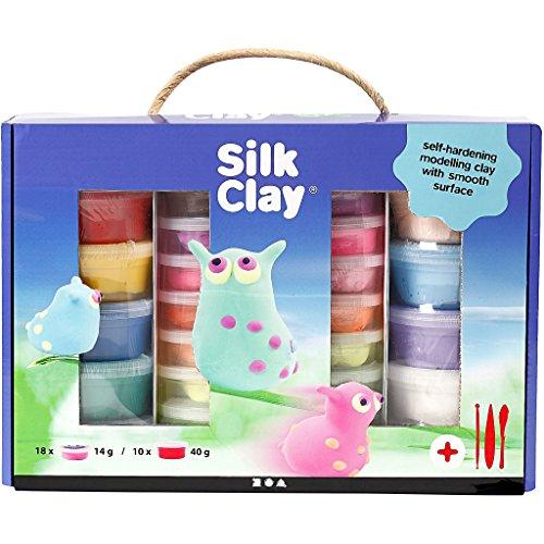 Silk Clay® Set, verschiedene Farben, 1 Set