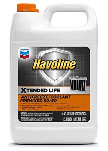 Havoline Xtended Life Antifreeze/Coolant Pre-mix 50/50