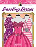 Creative Haven Dazzling Dresses Coloring Book (Creative Haven Coloring Books)