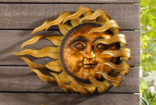 "Metallhänger\""Flammende Sonne\"", groß"