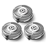 SH50 Replacement Heads for Philips Norelco Shavers Series 5000, OEM MultiPrecision Blades SH50/52 MADE IN NETHERLANDS